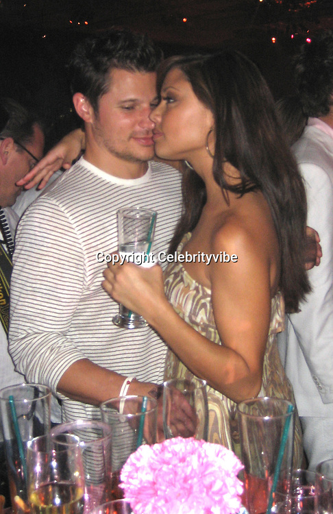 **EXCLUSIVE**.Nick Lachey & Vanessa Minillo.Silly 70's Party with performances by Aerosmith, Earth Wind, Fire & Village People & Stevie Wonder.Opening of Cain at The Cove Hotel.Grand Ballroom.Atlantis Hotel.Paradise Island, Bahamas.Saturday, May 12, 2007 .Photo By Celebrityvibe.To license this image please call (212) 410 5354; or.Email: celebrityvibe@gmail.com ;.