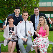 19.04.2017        <br /> Pictured at the University of Limerick KBS/Northern Trust Awards Ceremony were award recipients, Barbara Kelly, Kilmallock Co. Limerick, Jordan O'Connor, Raheen Co. Limerick, Stephen Kett, Castletroy Co. Limerick, Sean Golden, Monaleen Co. Limerick and Megan Byrnes, Corbally, Co. Limerick. Picture: Alan Place.