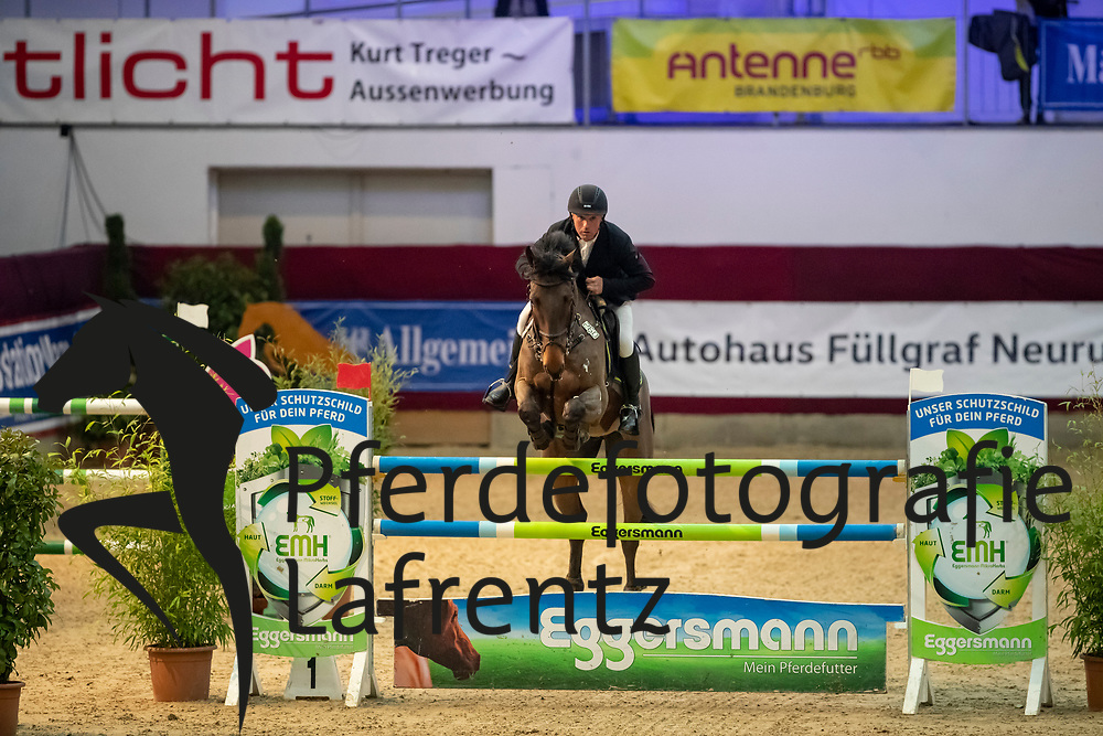 MÖLLER Jörg (GER), Lion Cor<br /> Neustadt-Dosse - CSI 2019<br /> Finale Mittlere Tour<br /> Preis der Firma Eggersmann Futtermittel<br /> 12. Januar 2019<br /> © www.sportfotos-lafrentz.de/Stefan Lafrentz