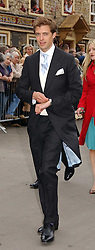 DONALD RICE at the wedding of Laura Parker Bowles to Harry Lopes held at Lacock, Wiltshire on 6th May 2006.<br />