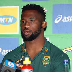 Siya Kolisi (captain) of South Africa during the South African - Springbok Captain's media briefing at the The Cullinan Hotel,Cape Town.South Africa. 22,06,2018 Photo by (Steve Haag JMP)