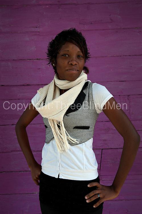 Mauritius. Julia. Student. Port Louis.