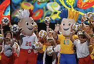 WARSAW 16/11/2010.Official presentation of EURO 2012 Mascot ...Fot. Piotr Hawalej