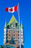 Canada, Province du Quebec, Ville de Quebec, Château Frontenac // Canada, Quebec province, Quebec city, Frontenac castle