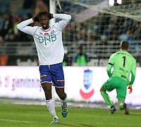 Fotball , 06. november 2016 , Eliteserien , Tippeligaen , Viking - Vålerenga<br /> Vajebah Sakor fra Vålerenga.<br /> Foto: Andrew Halseid Budd , Digitalsport