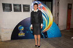 Maja Makovec Brencic at Official dinner ahead to the UEFA Futsal EURO 2018 Draw, on September 28, 2017 in Ljubljanski grad, Ljubljana, Slovenia. Photo by Vid Ponikvar / Sportida