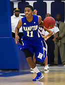 Hampton beats Howard 51-49 MBBall