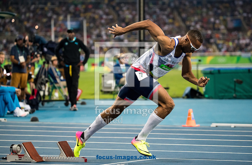 Matthew Hudson-Smith of Great Britain during the Men's 400m Final on day nine of the XXXI 2016 Olympic Summer Games in Rio de Janeiro, Brazil.<br /> Picture by EXPA Pictures/Focus Images Ltd 07814482222<br /> 14/08/2016<br /> *** UK &amp; IRELAND ONLY ***<br /> <br /> EXPA-GRO-160815-5343.jpg
