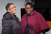 Brooklyn, NY - February 25, 2019: The first Black Food Folks Meet & Greet, which gathered professionals in food, spirits, media and events, hosted by Colleen Vincent and Clay Williams in Flatbush.<br /> <br /> Photos by Clay Williams.<br /> <br /> © Clay Williams / http://claywilliamsphoto.com