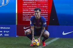 January 8, 2018 - Barcelona, Catalonia, Spain - January 8, 2017 - Camp Nou, Barcelona, Spain -Presentation of Philippe Coutinho as new player of the FC Barcelona, in Barcelona. (Credit Image: © Eric Alonso via ZUMA Wire)