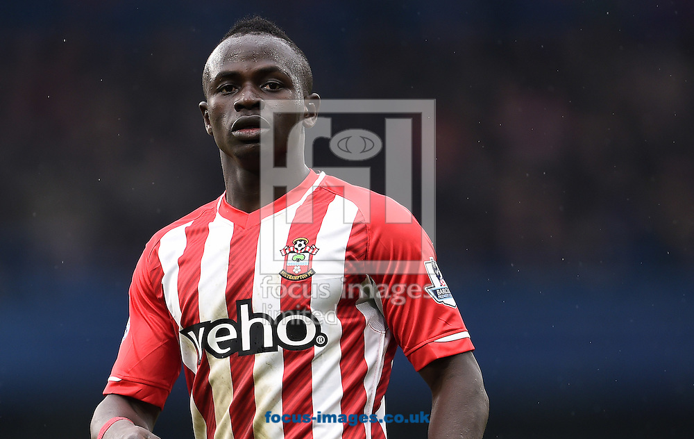 Sadio Mane of Southampton during the Barclays Premier League match against Chelsea at Stamford Bridge, London<br /> Picture by Andrew Timms/Focus Images Ltd +44 7917 236526<br /> 15/03/2015
