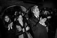 """ERBUSCO (BS) - 17 FEBBRAIO 2019: Presentazione del libro """"Un'altra strada"""" di Matteo Renzi a Erbusco (Brescia) il 17 febbraio 2019."""