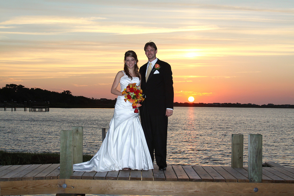 Stephanie & Andy's wedding at the Inn on the Pamlico Sound