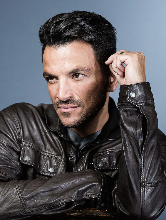 Peter Andre Portrait in Crawley East Sussex 21 September 2015.<br /> Photos Ki Price