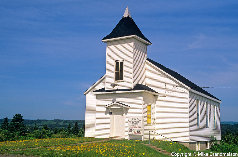 New Horton BAptist Church<br /> New Horton<br /> New Brunswick<br /> Canada