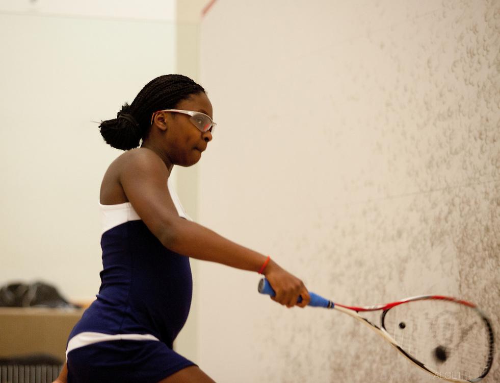 Westover School-February 2014- Varsity Squash.  (Photo by Robert Falcetti)