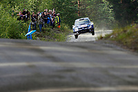 09 Volkswagen Motorsport II, Mikkelsen Andreas, Floene Ola, Volkswagen Polo Wrc, Action during the 2015 WRC World Rally Car Championship, Finland rally from August 1st to 2nd, at Jyvaskyla, Finland. Photo Francois Baudin / DPPI / Austral