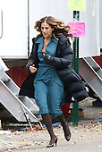 Sarah Jessica Parker was on the set of the new TV show Divorce