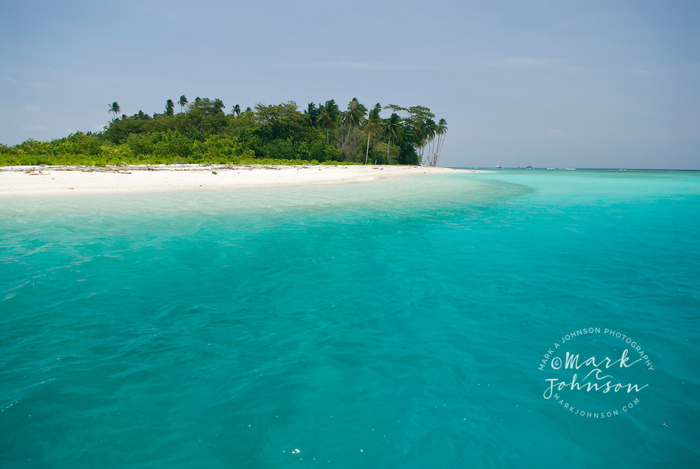Tropical island and beach, Mentawai Islands, Indonesia