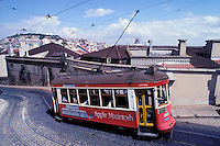 Tram - Calçado do Francisco - Lisbon - Portugal