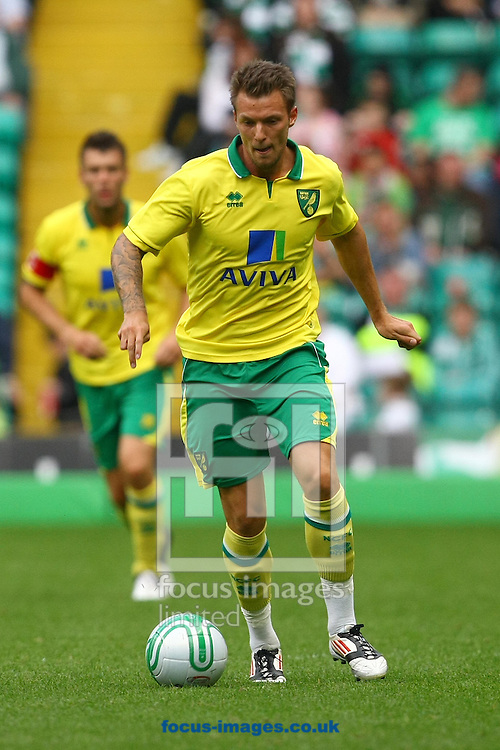 Picture by Paul Chesterton/Focus Images Ltd +44 7904 640267.24/07/2012.Anthony Pilkington of Norwich in action during the Friendly match at Celtic Park, Glasgow.