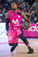 Estudiantes Omar Cook during Liga Endesa match between Estudiantes and FC Barcelona Lassa at Wizink Center in Madrid, Spain. October 22, 2017. (ALTERPHOTOS/Borja B.Hojas)