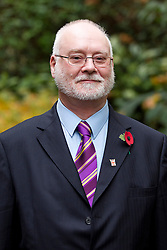 © Licensed to London News Pictures. 24/10/2012. LONDON, UK. Tony Armstrong, the UK Independence Party Police and Crime Commissioner candidate for Sussex, is seen after a press conference in London today (24/10/12).  The conference was held by the party to announce their 25 candidates who will stand for the position of Police and Crime Commissioner in various constabularies across England and Wales. Photo credit: Matt Cetti-Roberts/LNP