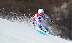 March 14, 2018 - Pyeongchang, South Korea - Danelle Umstead during Giant Slalom competition Wednesday, March 14, 2018 at the Jeongson Alpine Center at the Pyeongchang Winter Paralympic Games. Photo by Mark Reis (Credit Image: © Mark Reis via ZUMA Wire)