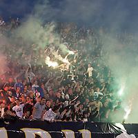 Partizan vs. Red Star Derby at Partizan Stadium, Belgrade, Serbia.
