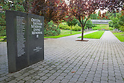Garden of Solace (Vietnam Veterans Memorial), Washinigton Park, Portland, Oregon