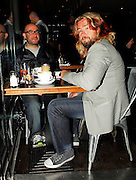 30.04.2007. LONDON<br /> <br /> **EXCLUSIVE PICTURES**<br /> <br /> JUSTIN LEE COLLINS FROM THE FRIDAY NIGHT PROJECT EATING DINNER WITH A FRIEND IN BALAMS CAFÉ IN SOHO, LONDON, UK.<br /> <br /> BYLINE: EDBIMAGEARCHIVE.CO.UK<br /> <br /> *THIS IMAGE IS STRICTLY FOR UK NEWSPAPERS AND MAGAZINES ONLY*<br /> *FOR WORLD WIDE SALES AND WEB USE PLEASE CONTACT EDBIMAGEARCHIVE - 0208 954 5968*