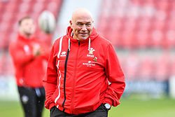 11th November 2018 , Racecourse Ground,  Wrexham, Wales ;  Rugby League World Cup Qualifier,Wales v Ireland ; John Kear Wales head coach during the pre match warm up<br /> <br /> <br /> Credit:   Craig Thomas/Replay Images