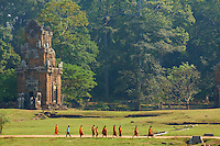 Asie du Sud Est, Cambodge, Province de Siem Reap, Angkor, complexe des temples de Angkor, Patrimoine Mondial de l'UNESCO en 1992, temple de Kleang Nord // Southeast Asia, Cambodia, Siem Reap Province, Angkor site, Unesco world heritage since 1992, North Kleang temple