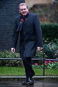 UNITED KINGDOM, London: 1 March 2016. Scotland Secretary David Mundell arrives in Downing Street to attend Cabinet meeting in central London.  Pic by Andrew Cowie / Story Picture Agency