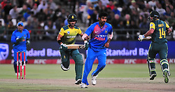 Cape Town-180224 Proteas  in action against  India when the two countries played the T20 cricket at Newlands stadium.Photograph:Phando Jikelo/African News Agency/ANA