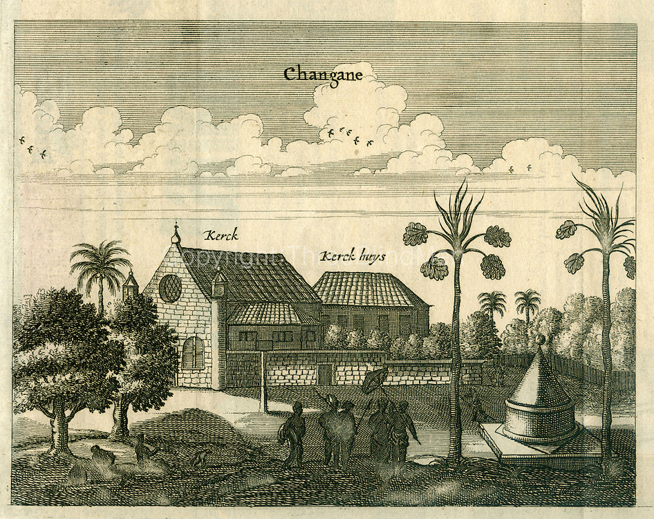 Old prints of Ceylon from the Dutch Period.