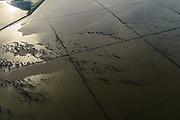 Nederland, Friesland, Gemeente Dongeradeel, 04-11-2018; Noord-Friesland Buitendijks, kweldergebied Noorderleeg. Waddenkust ter hoogte van Ternaard. De oorspronkelijke landaanwinning is  hier gestaakt.<br /> Fries: Noarderleech , onderdeel van Noard-Fryslân Bûtendyks.<br /> Frisian coast, salt marsh and mudflat area with land reclamation.<br /> luchtfoto (toeslag op standaard tarieven);<br /> aerial photo (additional fee required);<br /> copyright © foto/photo Siebe Swart