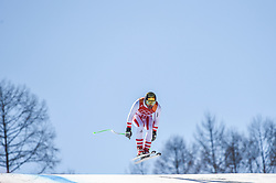February 15, 2018 - Jeongseon, Gangwon, South Korea - Max Franz of  Austria competing in mens downhill at Jeongseon Alpine Centre at Jeongseon , South Korea on February 15, 2018. (Credit Image: © Ulrik Pedersen/NurPhoto via ZUMA Press)