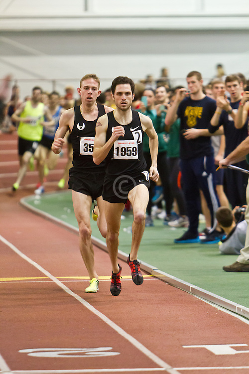 Boston University Terrier Invitational Indoor Track Meet: Dorian Ulrey paces Galen Rupp, Oregon Project, wins Elite Mile 3:50.92