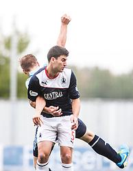 Falkirk's Jonathan Flynn.<br /> Falkirk 3 v 1 Dundee, 21/9/2013.<br /> &copy;Michael Schofield.