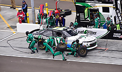 March 9, 2019 - Phoenix, Arizona, U.S. - PHOENIX, AZ - MARCH 09:  Justin Haley (11) LeafFilter Gutter Protection Chevrolet pits for tires and fuel at the NASCAR Xfinity iK9 Service Dog 200 race on March 09, 2019 at ISM Raceway in Phoenix, AZ.  (Photo by Lyle Setter/Icon Sportswire) (Credit Image: © Lyle Setter/Icon SMI via ZUMA Press)