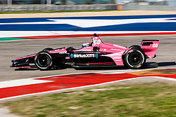 February 12, 2019 - U.S. - AUSTIN, TX - FEBRUARY 12: Jack Harvey (60) in a Honda powered Dallara IR-12 at turn 12 during the IndyCar Spring Training held February 11-13, 2019 at Circuit of the Americas in Austin, TX. (Photo by Allan Hamilton/Icon Sportswire) (Credit Image: © Allan Hamilton/Icon SMI via ZUMA Press)