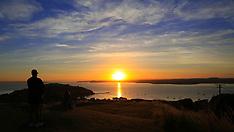 Auckland-The last sunrise of 2017