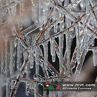 OCOYOACAC, MÈxico.- (Enero 30, 2018).- La noche del lunes se registro la caÌda de agua nieve en la zona de La Marquesa y Cuajimalpa, en la Ciudad de MÈxico, dejando una capa blanca en la este lugar, dejando un paisaje nevado. Agencia MVT / Crisanta Espinosa.