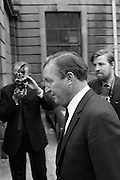 22/9/1970<br /> 9/22/1970<br /> 22 September 1970<br /> <br /> Mr. Charles Haughey arriving to the Four Courts for the Arms Trial