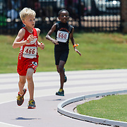 Image from the 2013 USATF Junior Olympics South Carolina State Championship track and field meet at Irwin Belk stadium at Winthrop University in Rock Hill