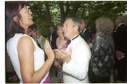 Janet Street-Porter and Michael Bloomberg<br />