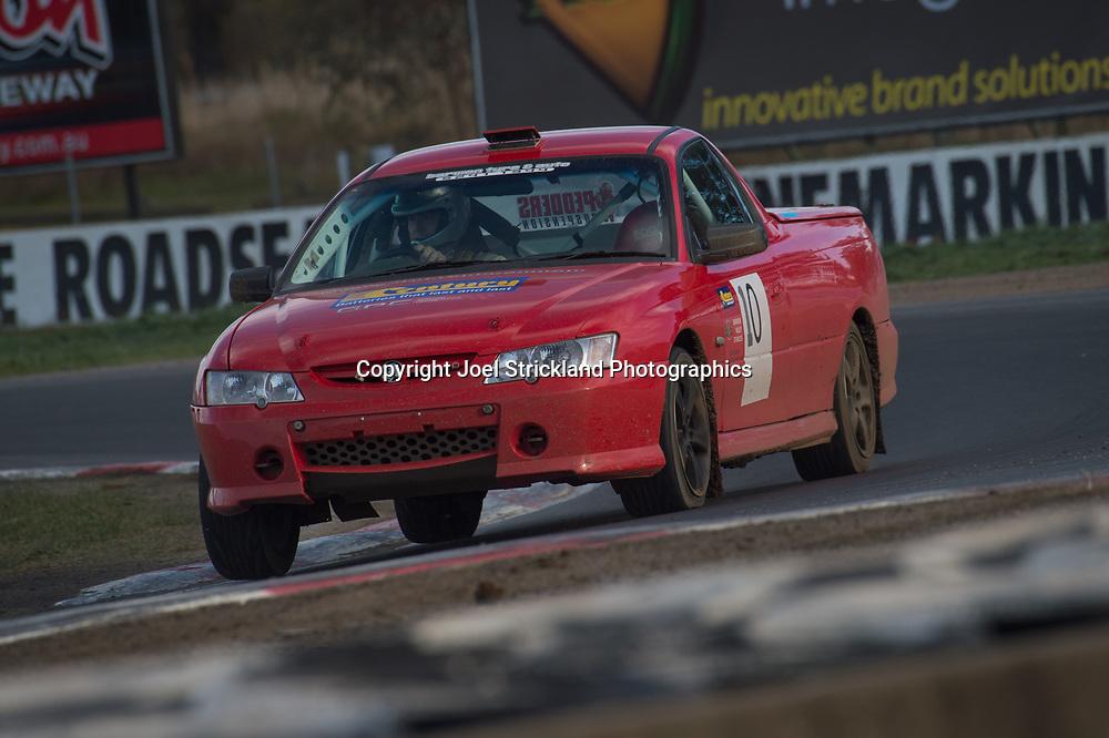 Richard McNay - Holden Commodore Ute - Rallycross Australia - Winton Raceway - 16th July 2017