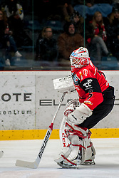 08.01.2017, Ice Rink, Znojmo, CZE, EBEL, HC Orli Znojmo vs Dornbirner Eishockey Club, 41. Runde, im Bild Patrik Nechvatal (HC Orli Znojmo) // during the Erste Bank Icehockey League 41th round match between HC Orli Znojmo and Dornbirner Eishockey Club at the Ice Rink in Znojmo, Czech Republic on 2017/01/08. EXPA Pictures © 2017, PhotoCredit: EXPA/ Rostislav Pfeffer