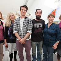 LtoR: Elke Vallaster, Debbie Green, Brian Davis, Daniel Trussell, Bairbre Geraghty and Ann O'Donoghue